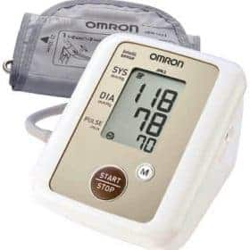 Omron HEM-JPN2 Upper Arm Cuff Blood Pressure Monitor Image