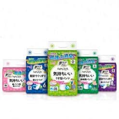 nippon paper- ACTY hada diapers with deodourizing materials