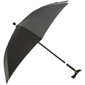 Adjustable Height Walking Stick Umbrella Image
