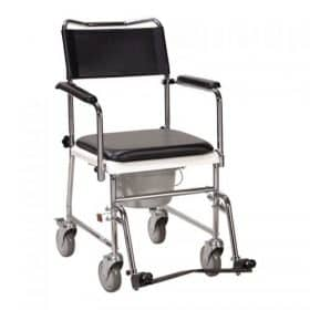 Commode Chair with Wheels Image