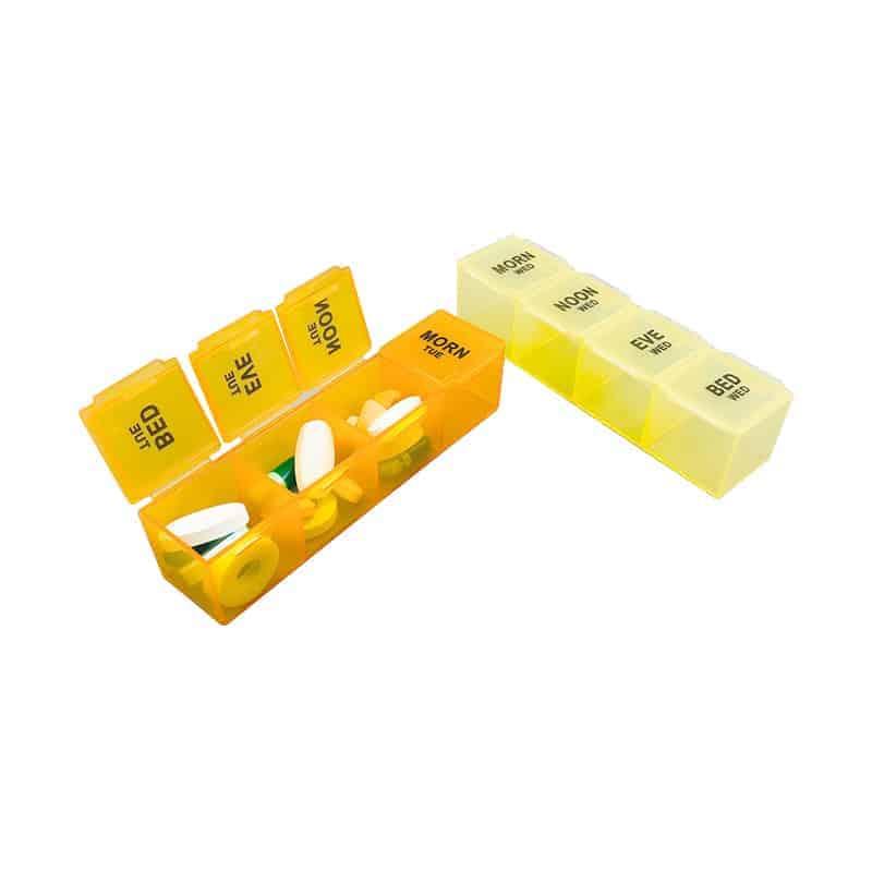 Product-Detachable 7 Days Pill Box - Demo
