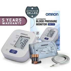 OMRON HEM 7121 Upper Arm Cuff Blood Pressure Monitor (5 Years Warranty) Image