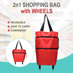 2 in 1 SHOPPING BAG TROLLEY