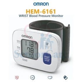 Omron Wrist Blood Pressure Monitor HEM-6161 Image