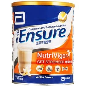 Ensure NutriVigor Milk Powder 850g - Vanilla Image