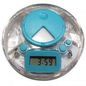 Digital Pill Box Compact Medication Box with Daily Reminder Alarm Image