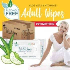 Cantley Wet Wipes 40s For Adult Elderly Incontinence Image