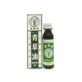 Green Grass (Qing Cao You) Herbal Medicated Oil Image