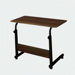 Multipurpose Adjustable Height Bed Side Table