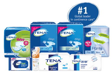 Tena Adult Diapers and Pull Up Pants Varieties