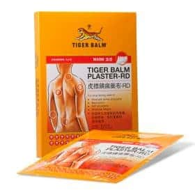 Tiger Balm Plaster Warm For Muscle Pains Image