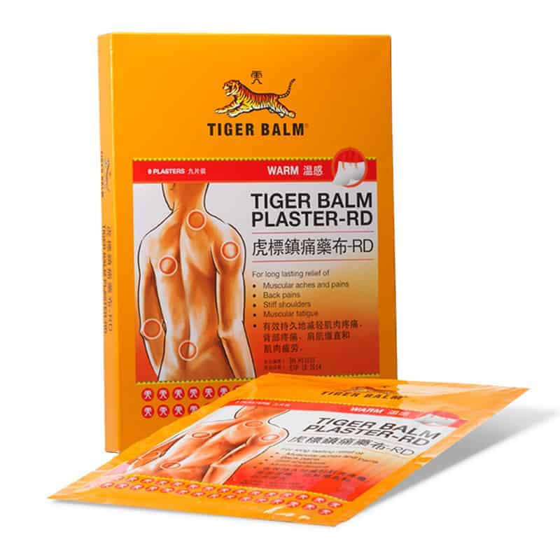 Tiger Balm Plaster Warm For Muscle Pains