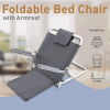 Foldable Backrest Seat with Handles -For Bed, Chair, Floor