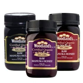 Woodland's Manuka Honey MG100+, MG200+, MG300+ Image