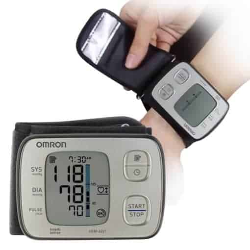 50% OFF! Omron HEM-6221 Wrist Blood Pressure Monitor
