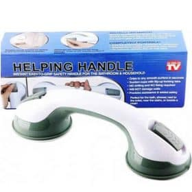 (DISCONTINUED) Helping Handle Bathroom Bar Shower Grip Support Elderly Care Image